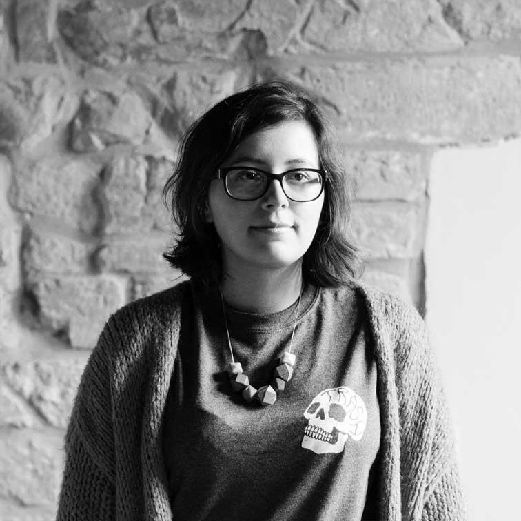 Eline vervoegt ons team als Illustrator & Motion Designer (zwart-wit)