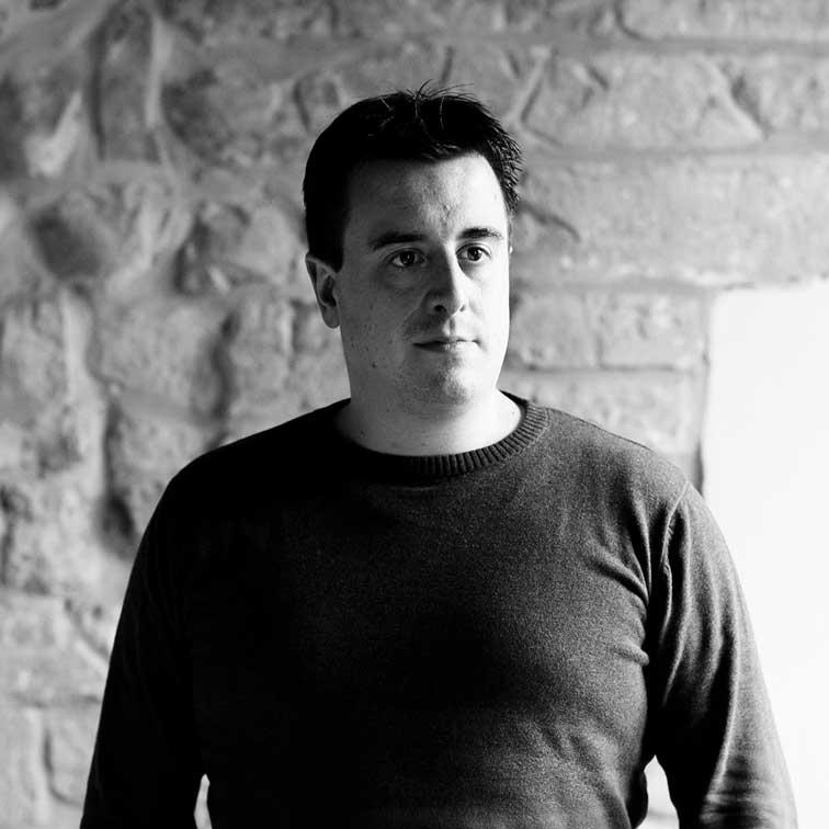 Johannes is Senior Motion designer bij Epic Frame (zwart-wit)