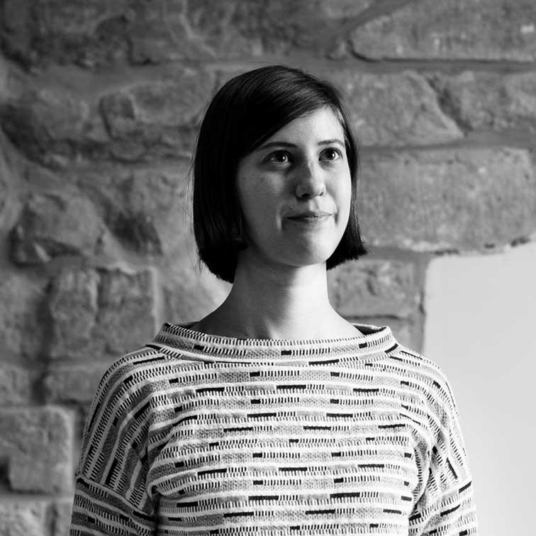 Eva vervoegt ons team als projectmanager (zwart/wit)