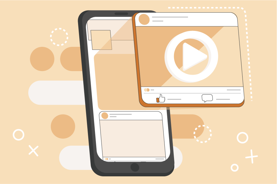 Facebookgebruikers zijn dol op video's. Dagelijks kijken zo'n half miljoen mensen video content op Facebook. En Facebook video ads? Die genereren tot wel dubbel zoveel kliks als gewone image ads.